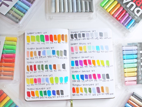 The Color Guide to Tombow Dual Brush Pen Sets