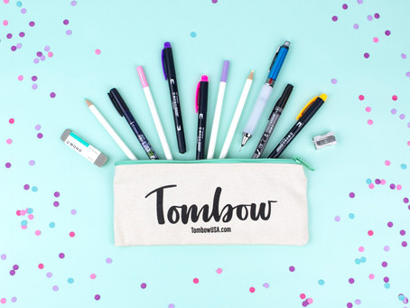 Tombow April VIP Club Unboxing + NEW Tombow MONO Edge Highlighters!