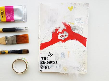 A Kindness Art Journal Zine