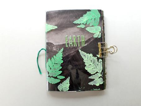 An Earth Element Art Journal Collab