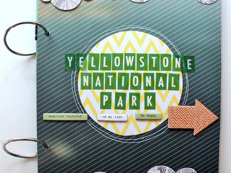 Yellowstone National Park Mini Album