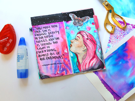 How to Gelli Print with Tombow Dual Brush Pens
