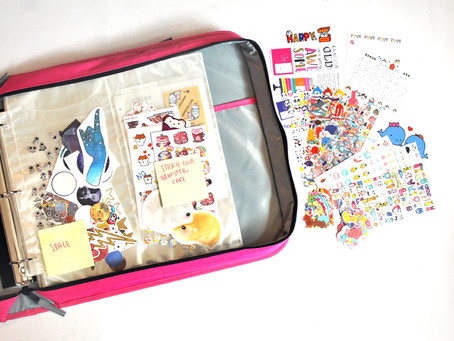 Product Review: Totally Tiffany Big Canvas Sticker Binder