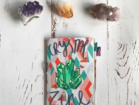 A Crystal Art Journal Zine