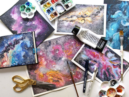 Painting Galaxies Online Course
