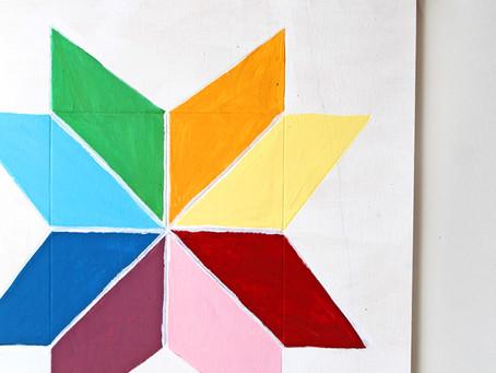 DIY Barn Star Paintings