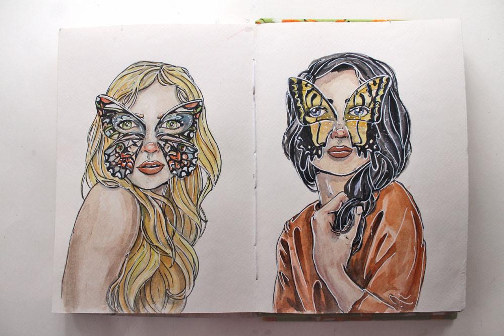 Katie Smith Sketchbook 01 @studio.katie