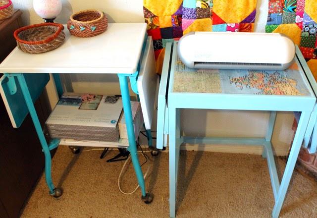 Restyled Cart using Hazel & Ruby's DIY Decor Tape