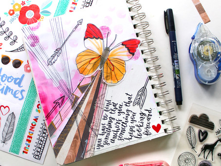 Celebrating National Scrapbook Day with Tombow