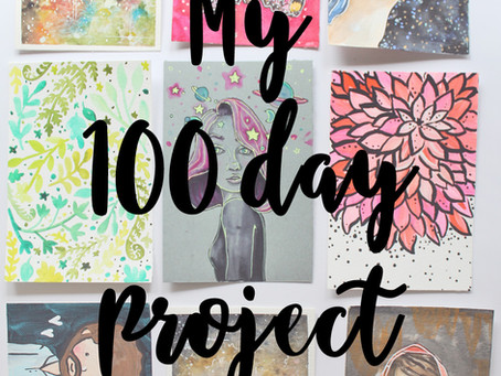 #The100DayProject Update: 1-10