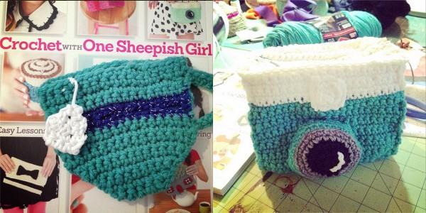 crochet sheepish girl