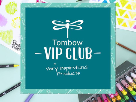 Unboxing Tombow's July 2018 VIP Box