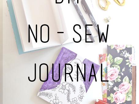 DIY No-Sew Perfect Binding Journal