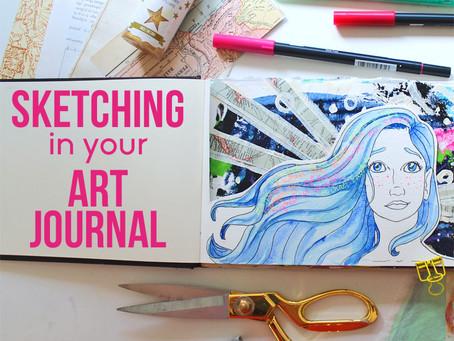 Sketching In Your Art Journal Online Class
