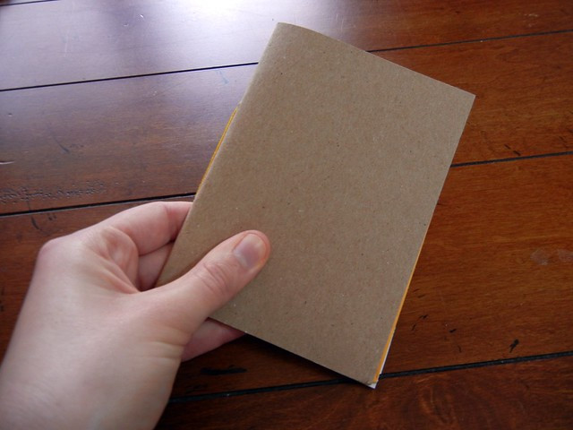 Recycled book tutorial