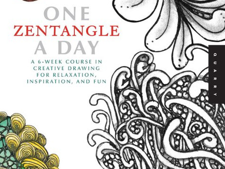 Book Review- One Zentangle A Day