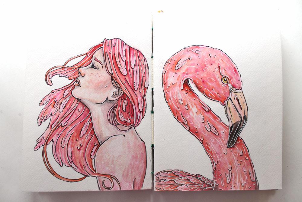 Katie Smith Sketchbook 02 @studio.katie