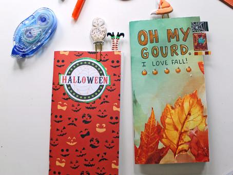 DIY Fall Travelers Notebook Inserts
