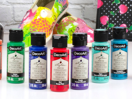New eBook: 30+ Fashion Painting Ideas with DecoArt® Stylin™ + Paint GIVEAWAY