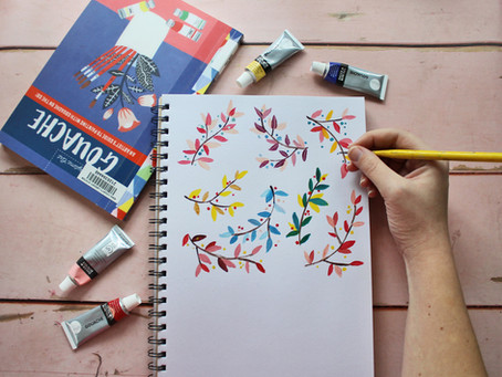 Book Review- Anywhere, Anytime Art: Gouache by Agathe Singer