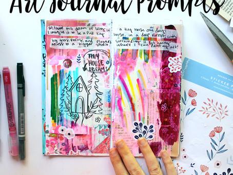 New Class: Art Journal Prompts 01!