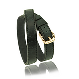 RM101 jewelry leather strap  - cow leather black  - price: € 250,00