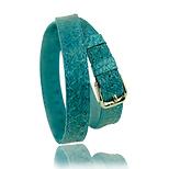 RM101 jewelry leather strap aqua salmon - price: € 290,00