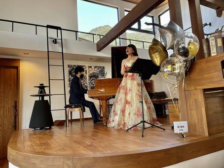 春爛漫🌸歌とピアノのコンサート
