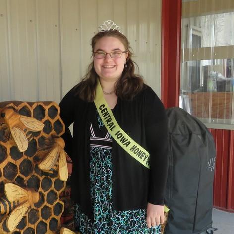 CIBA is proud of our queen!