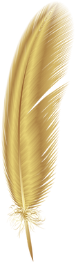 Golden_Feather_PNG_Clip_Art.png