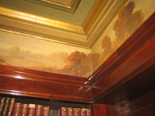 Historic Interior Wall Mural