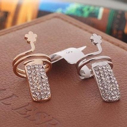 Crystal Nail Ring