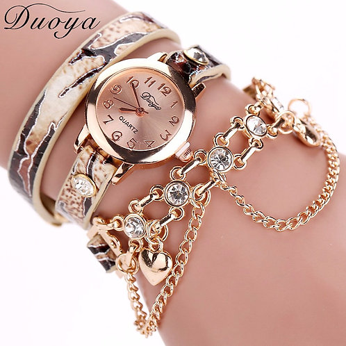 Charm Bracelet Watch