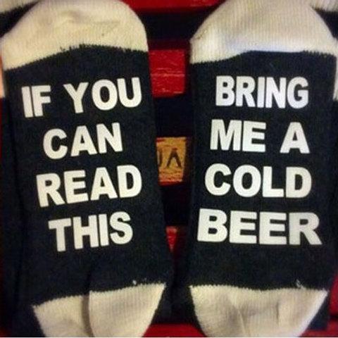 """""""Bring me Beer"""" Socks"""