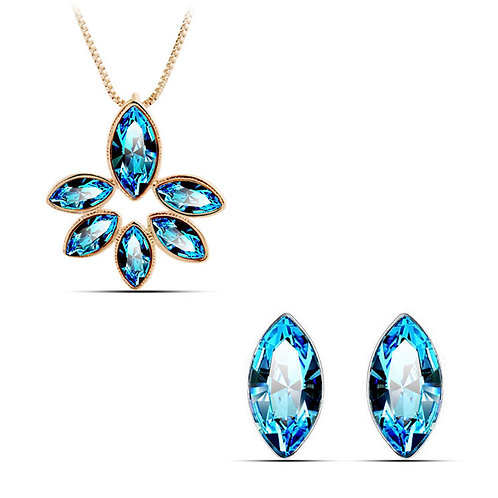 Crystal Flower Set