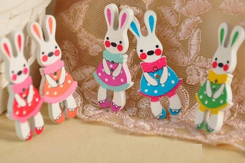 Pack of 50 Bunny Buttons