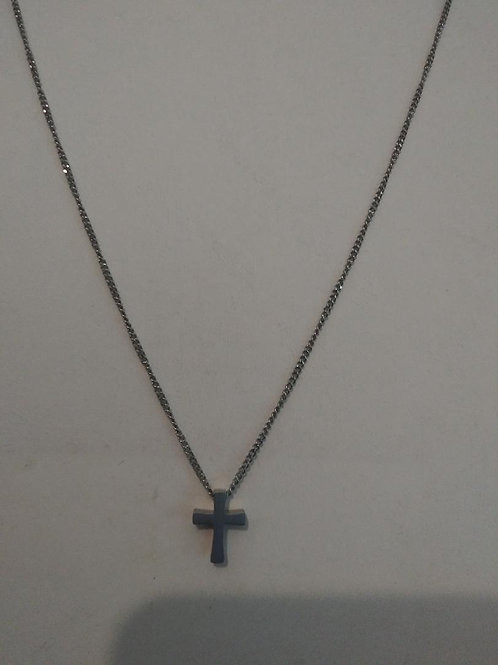 the light - small cross necklace