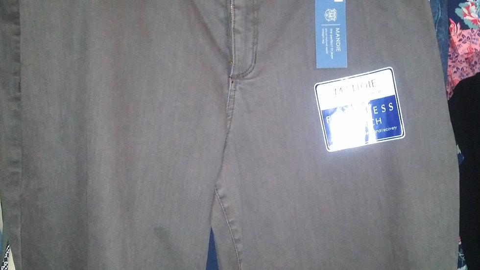 dk brown bandolino jeans