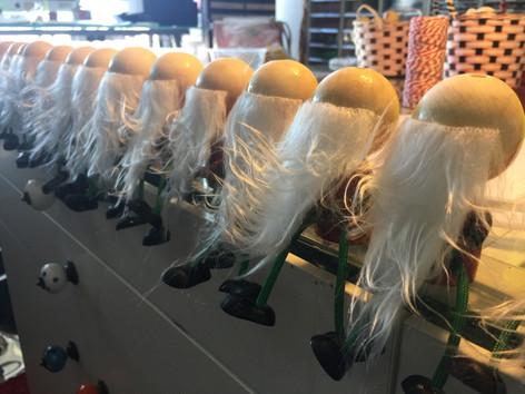 Christmas gnomes - half done!