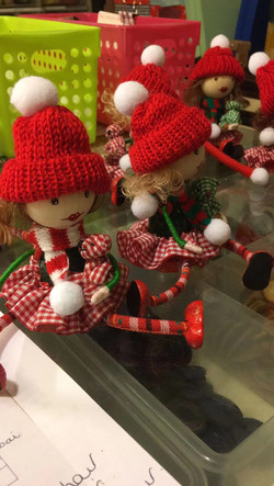 Girly Christmas Gnomes