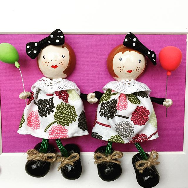 Peg Doll Frame