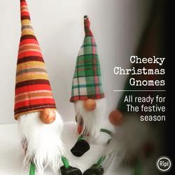 Handmade Nordic style Christmas Gnomes