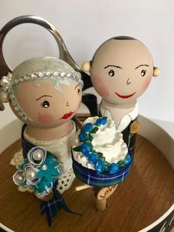 Custom made Wedding at The Falkirk Wheel