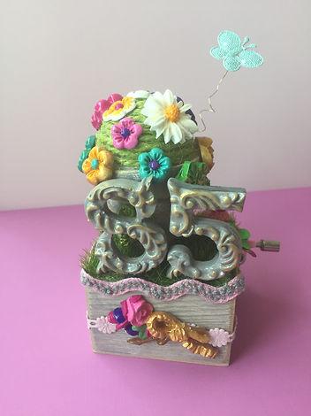 Birthday music box