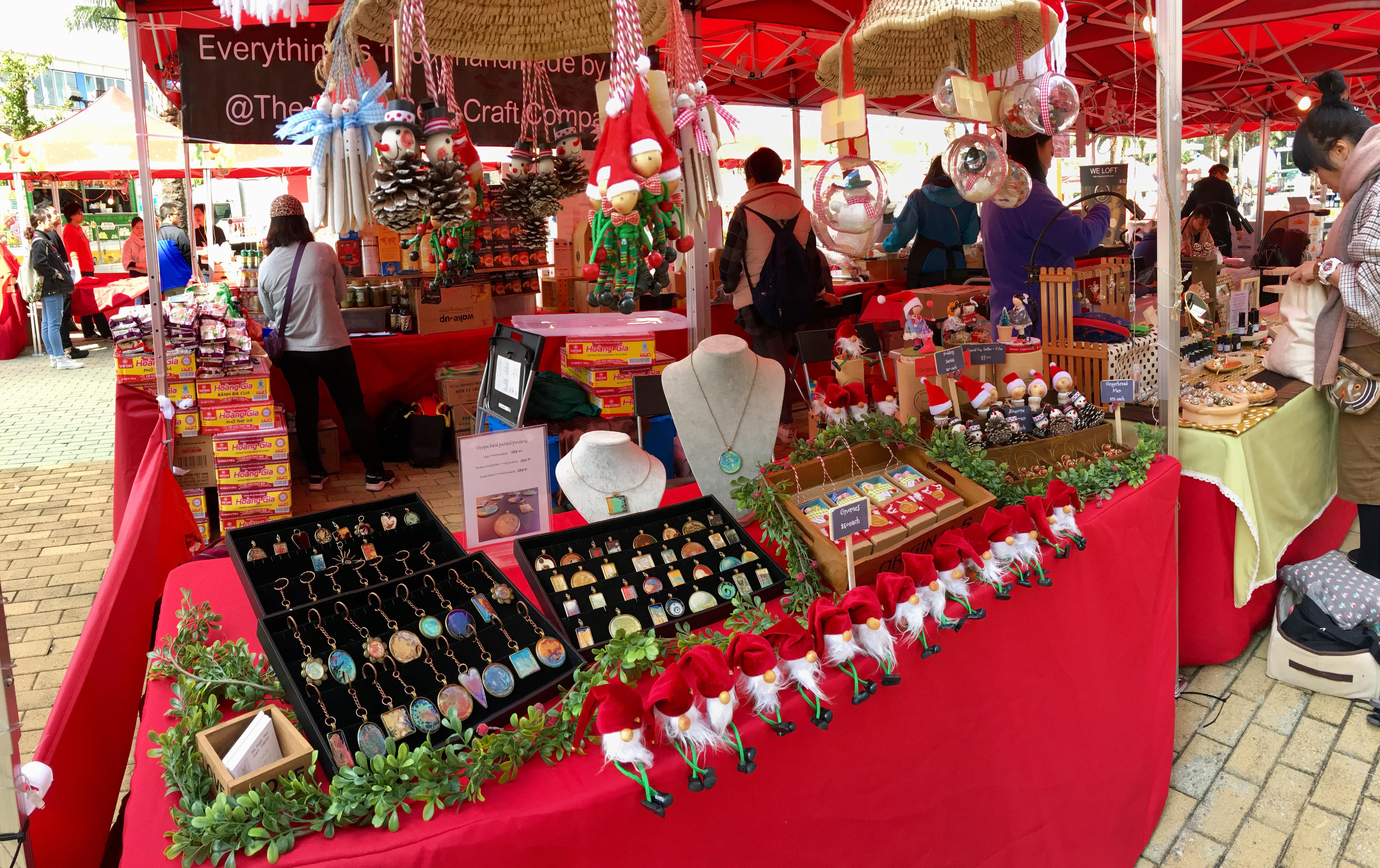 Olympian City Christmas Market