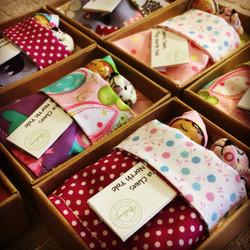 Handmade Christmas Eve Box Dollies