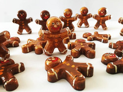 Handmade Gingerbread men