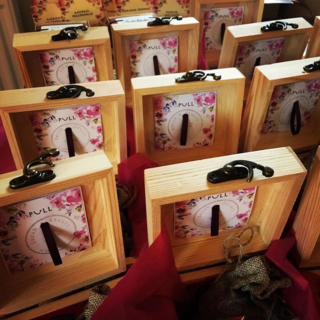 Special order wedding favours