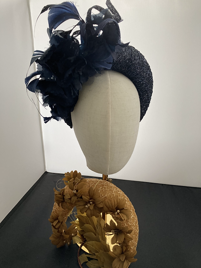 Course Saturday: Block and line a Crown headdress