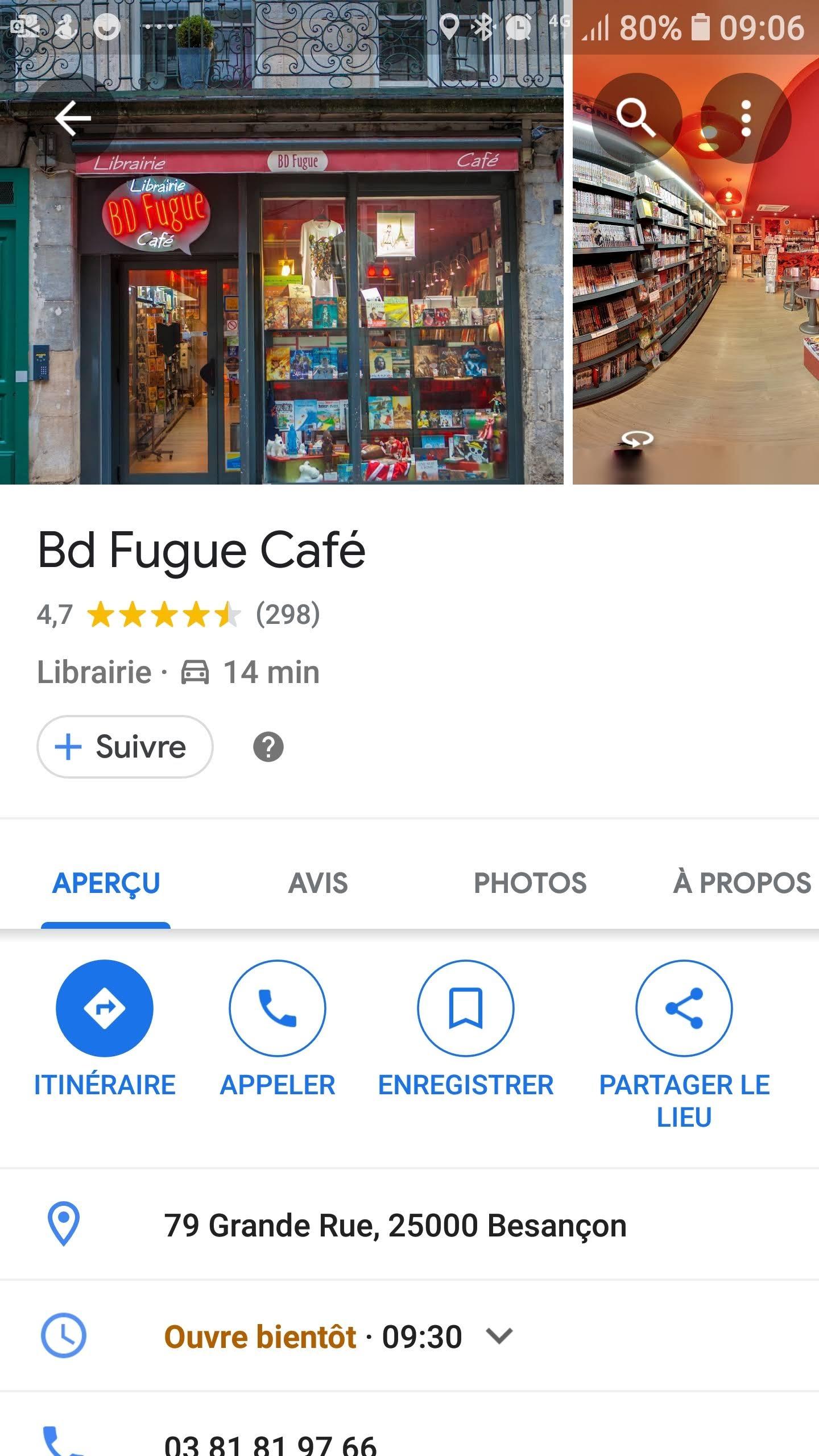 BD Fugue Café